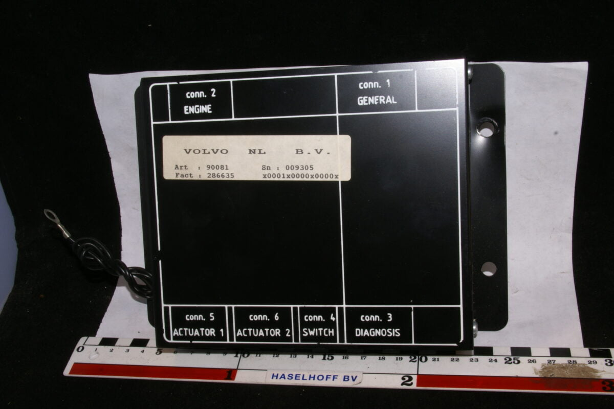 LPG computer Sn 009305 90081-0