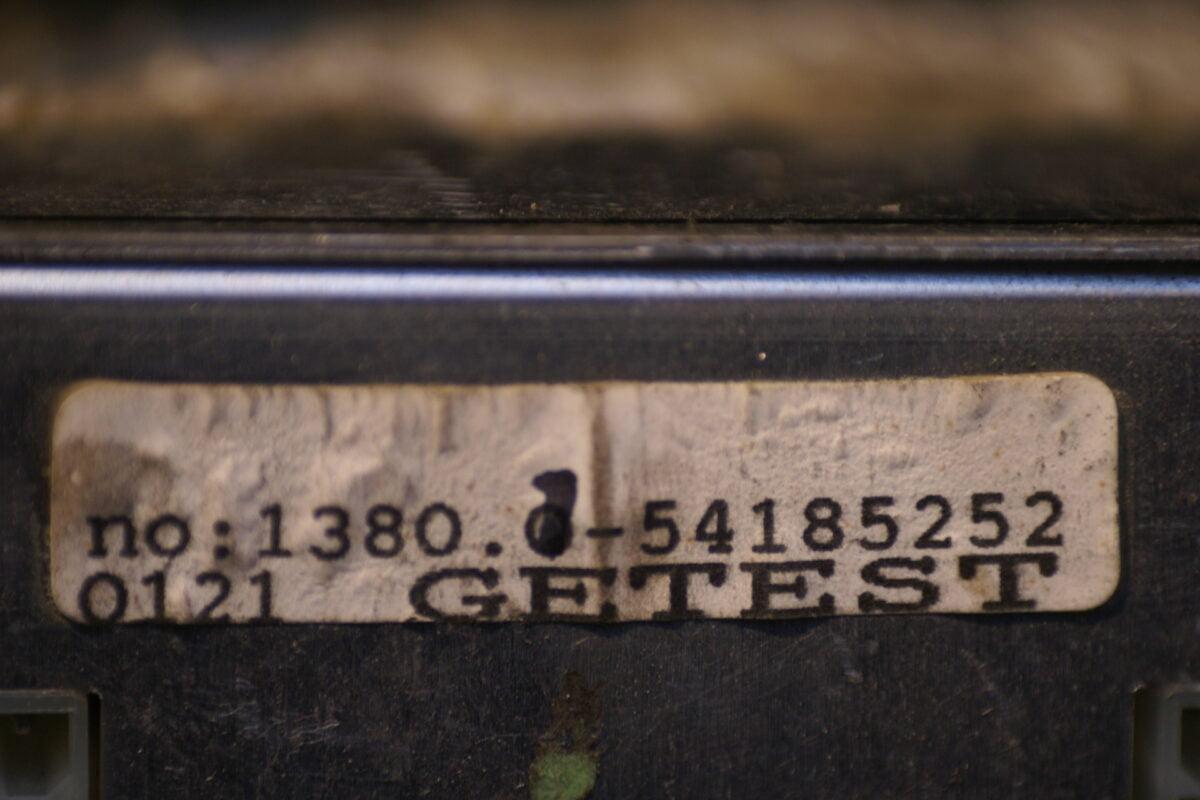 LPG computer 8-54185252-0