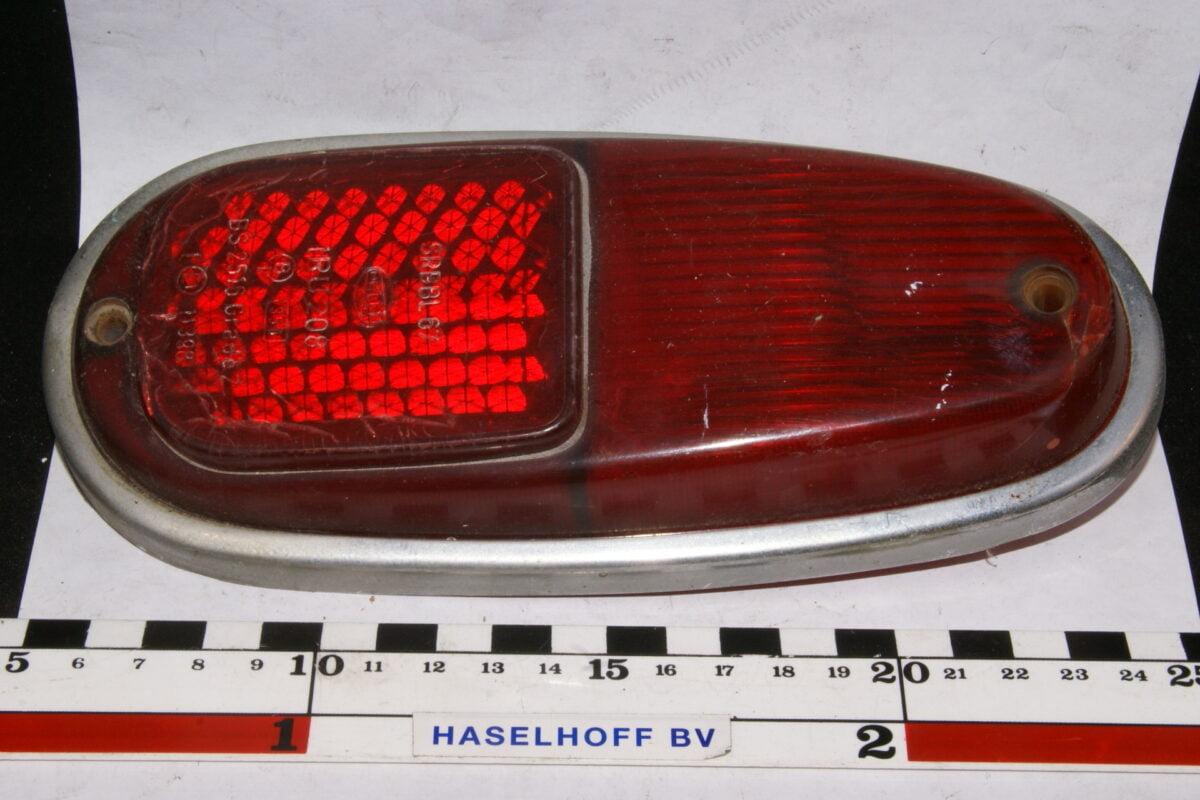 Hella IRU achterlichtglas PV 544 zonder chroom 160 BS 2516-0