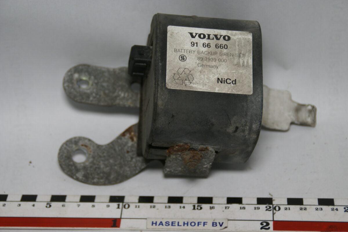 Volvo NiCd battery backup siren set 9166660-0