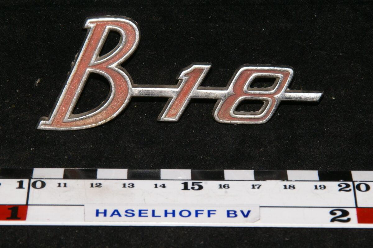 embleem B18 141100-0316-0