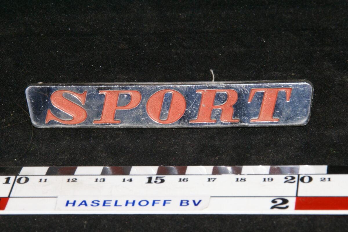 embleem Sport 141100-0317-0