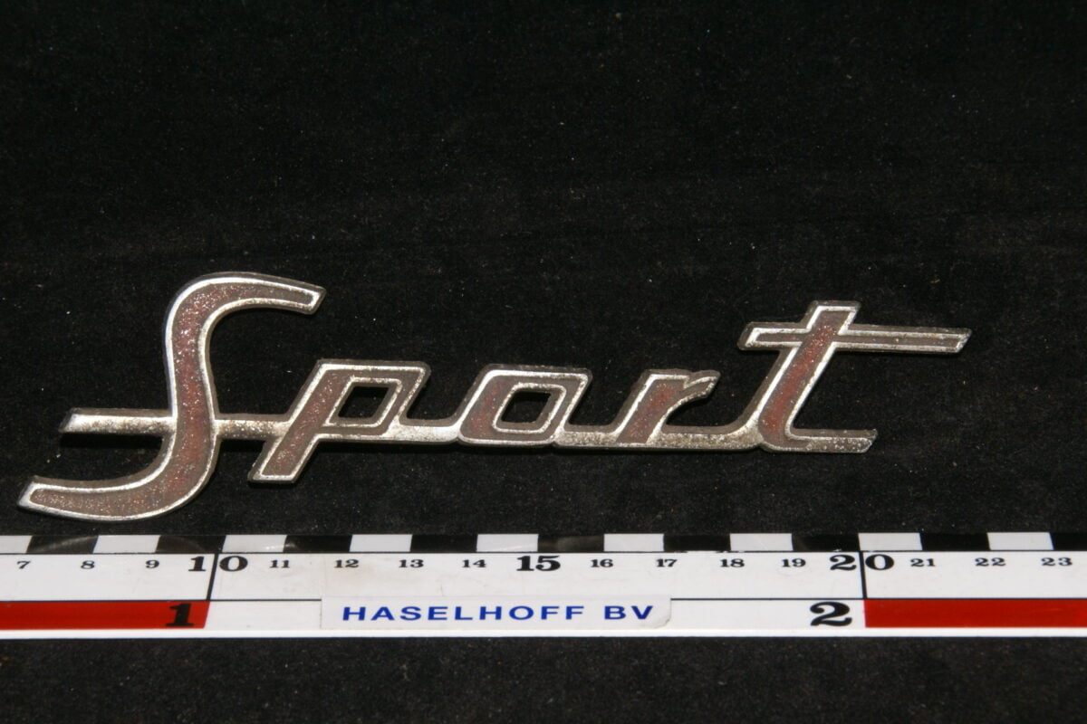 embleem Sport 141100-0318-0