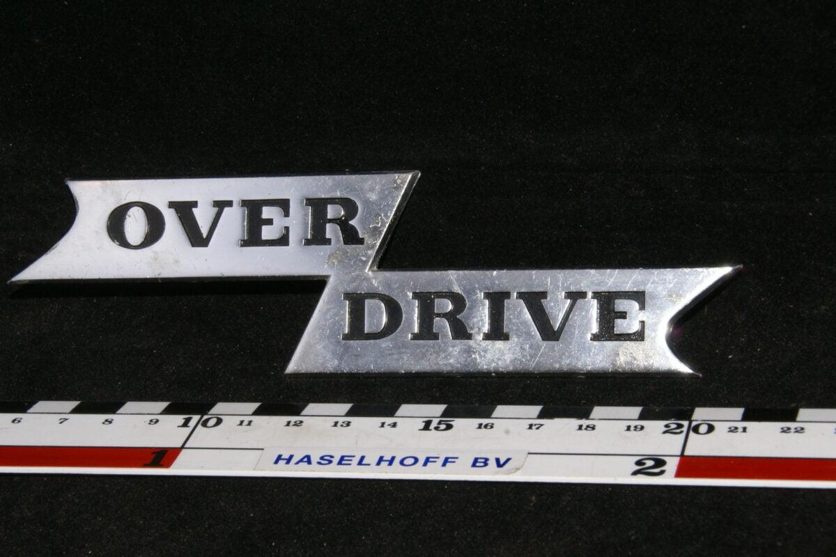embleem Overdrive 141100-0353-0