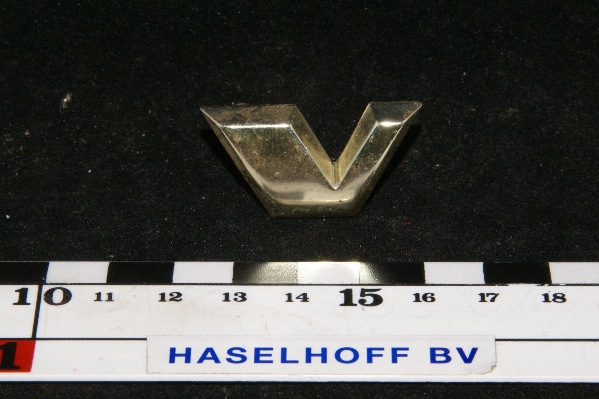 mototkapletter V goud 141100-0366-0