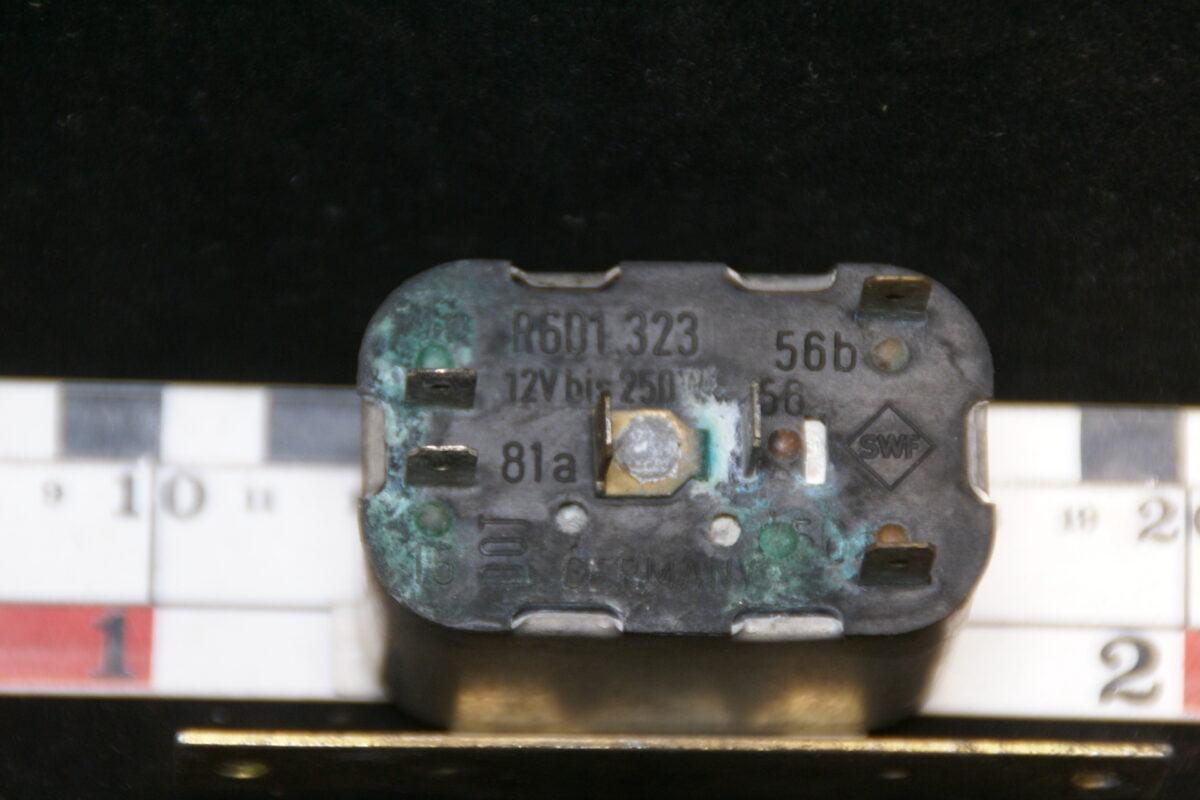 origineel relais 6-polig R 601323-0