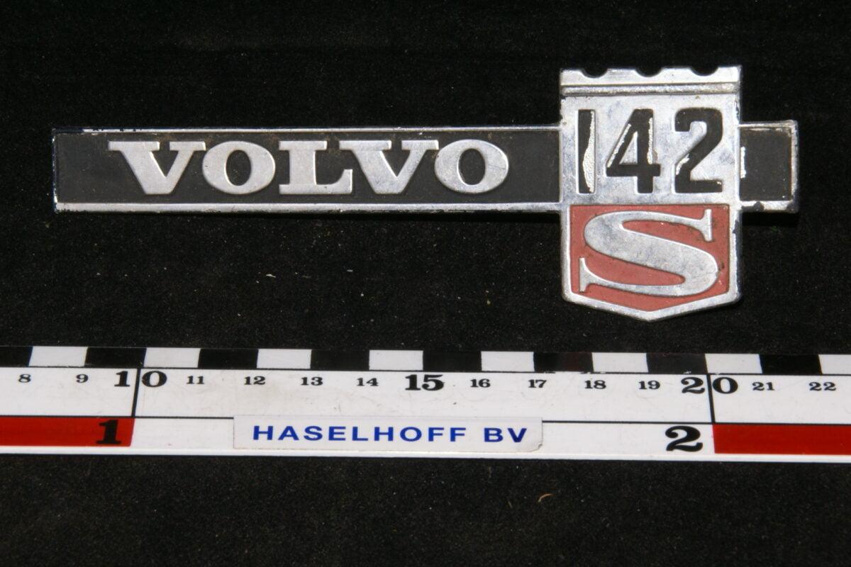 spatbod embleem VOLVO142S 141100-0395-0