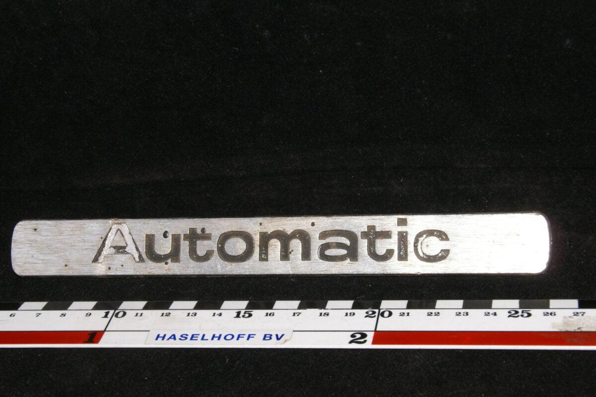 koffer embleem Automatic 141100-0421-0