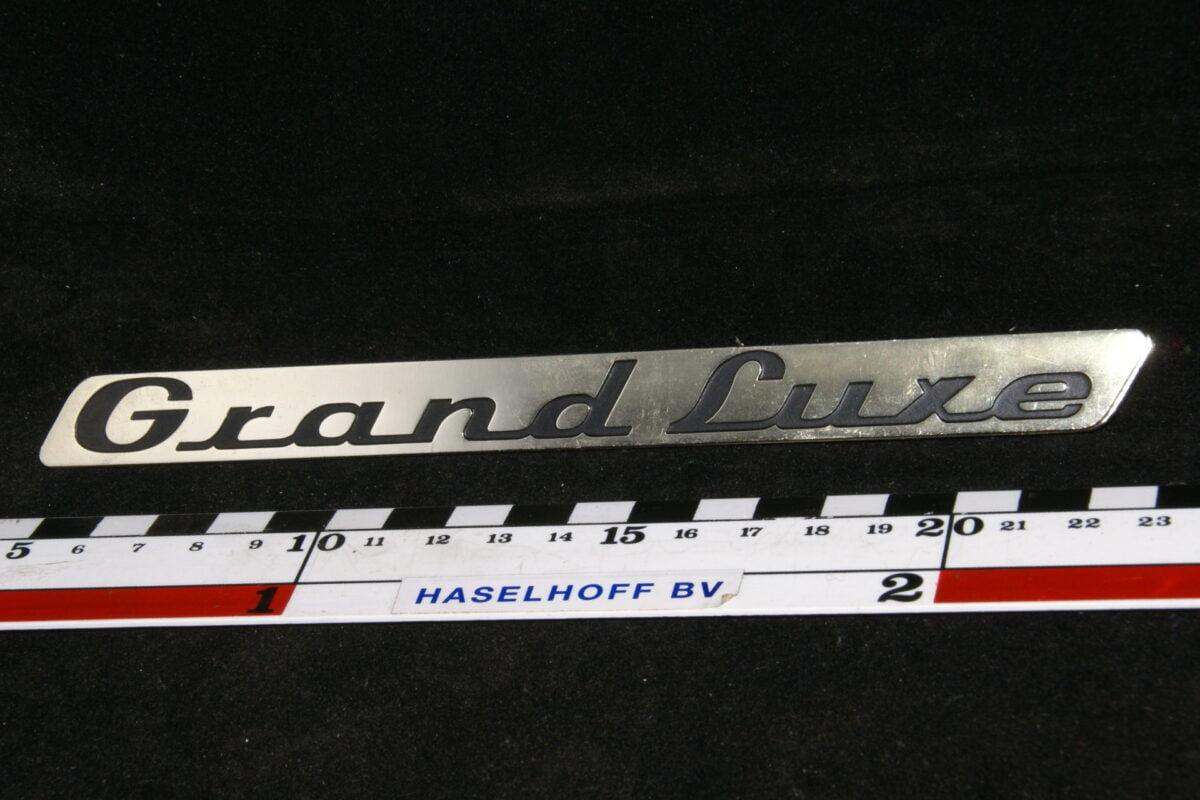 koffer embleem Grand Luxe 141100-0440-0