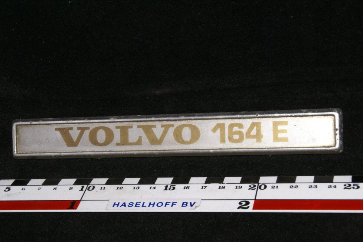 achter embleem VOLVO164E 141100-0447-0