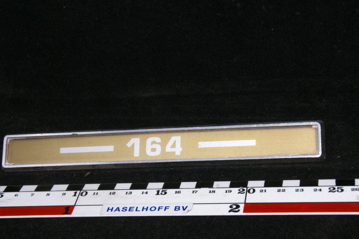 achtere embleem --164-- 164 141100-0451-0