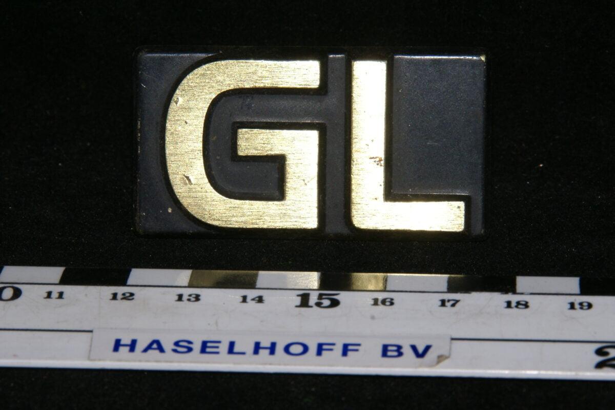 grille of achter embleem GL chroom 141100-0466-0