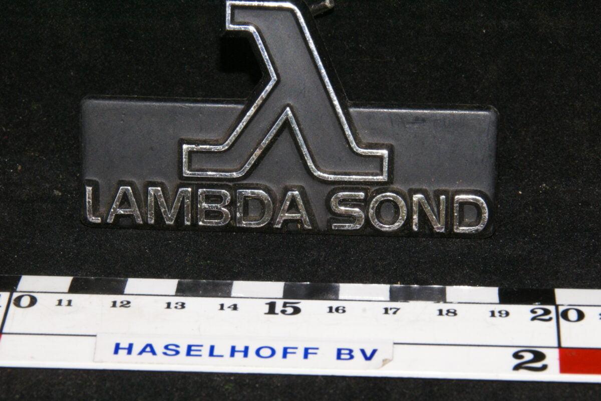grille embleem LAMBDA SOND 141100-0470-0