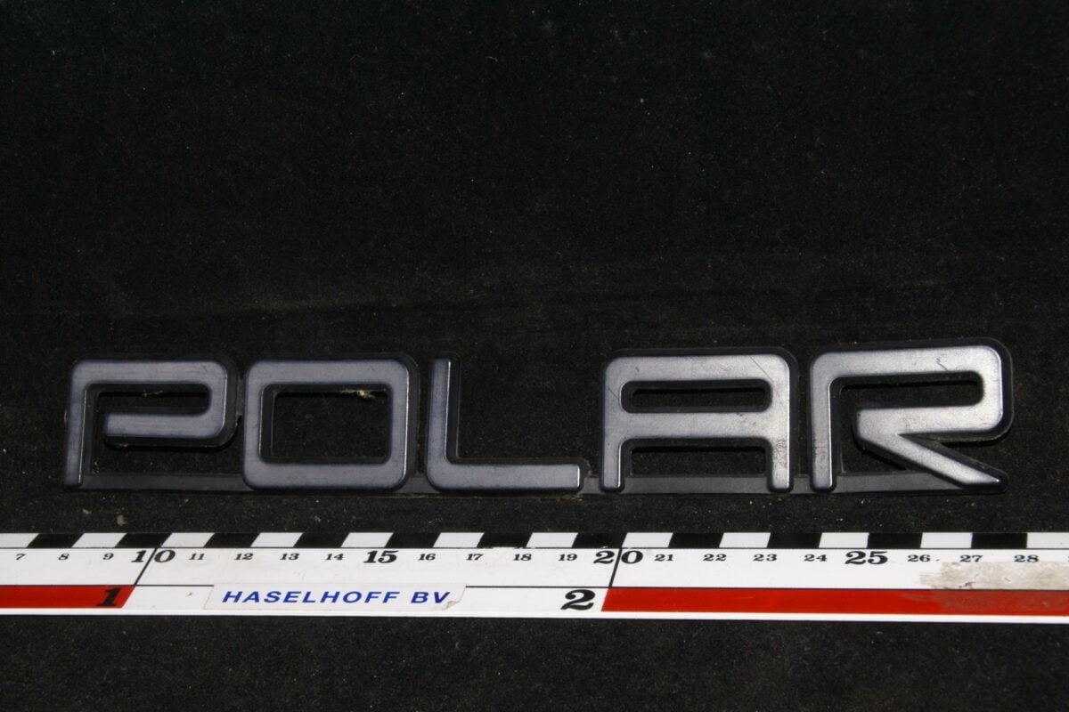 achter embleem POLAR 141100-0482-0