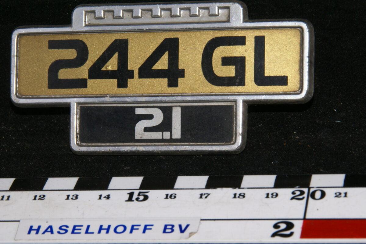 spatbord embleem 244GL/2.1 141100-0504-0