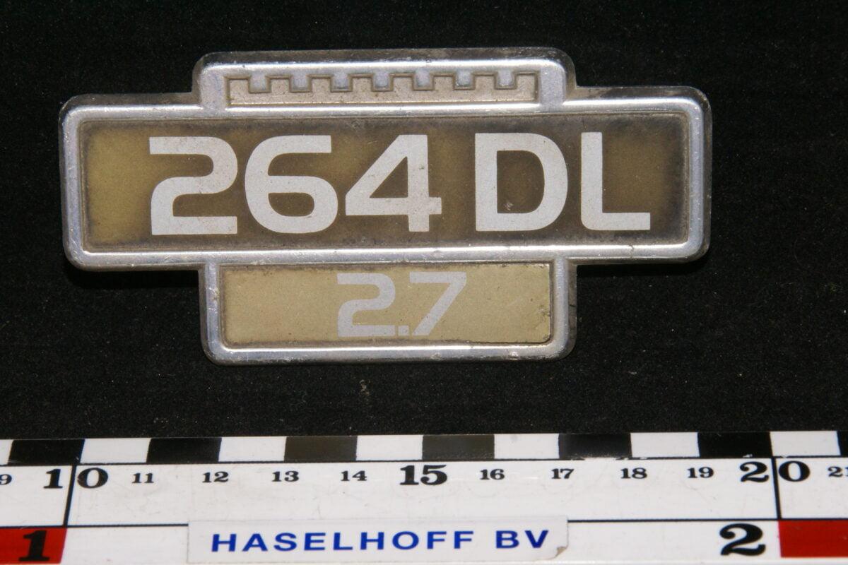 embleem spatbord 264DL/2.7 141100-0531-0