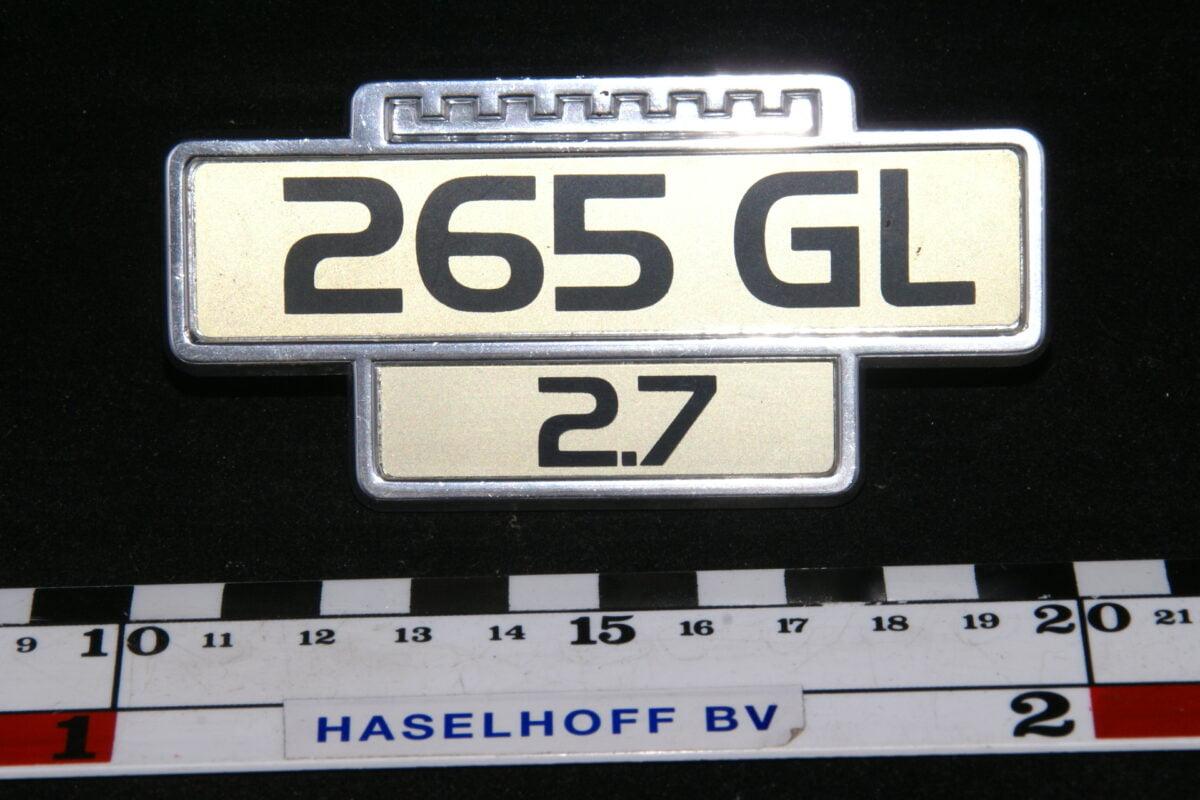 embleem spatbord 265GL/2.7 141100-0532-0