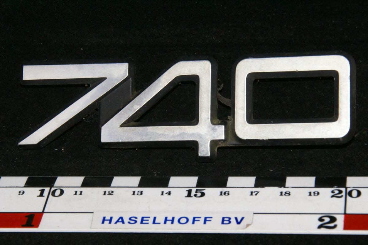 embleem kofferdeksel 740 (laat) 141100-0541-0
