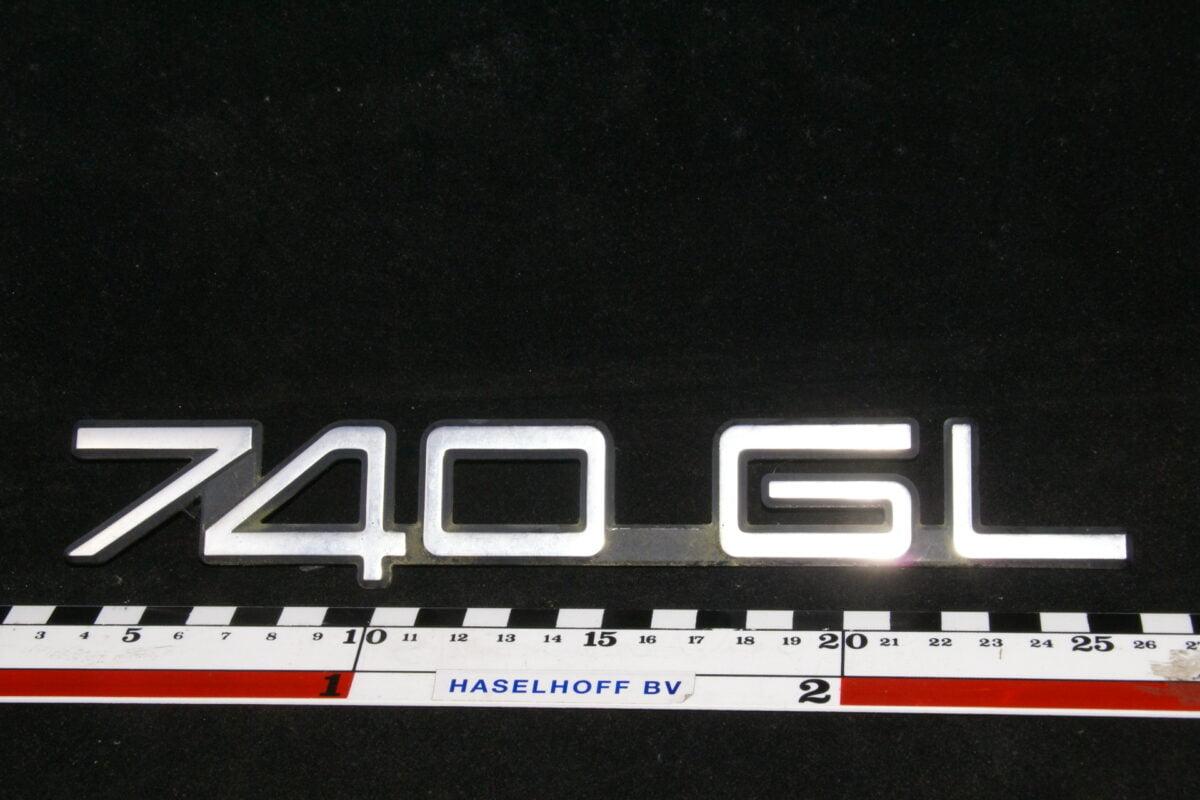 embleem kofferdeksel 740GL 141100-0542-0