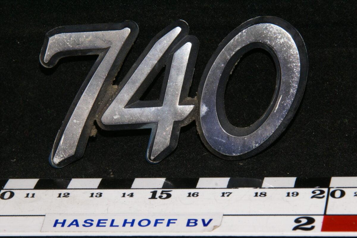 embleem kofferdeksel 740 (vroeg) 141100-0549-0