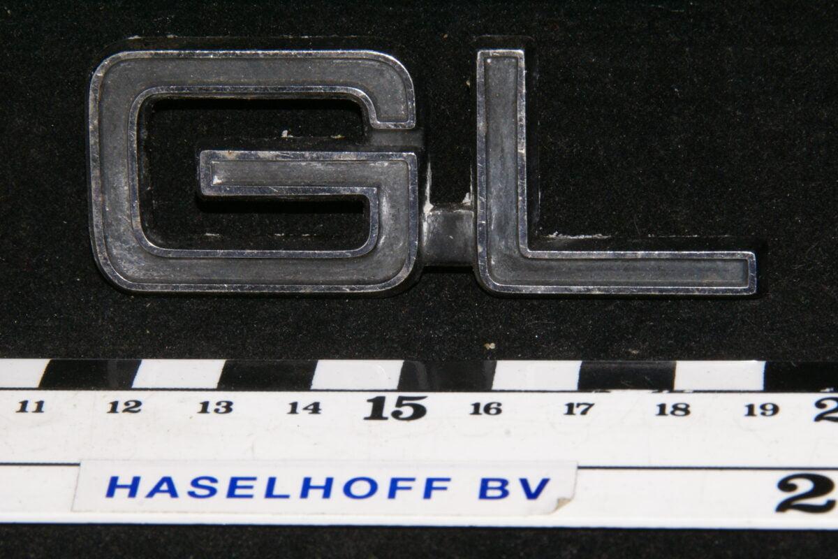 embleem kofferdeksel GL (laat) 141100-0550-0