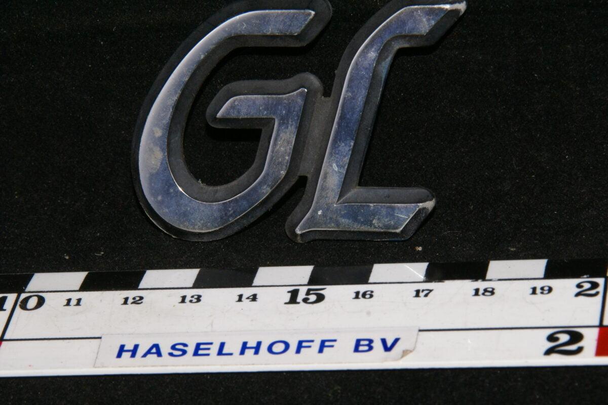 embleem kofferdeksel GL (vroeg) 141100-0551-0