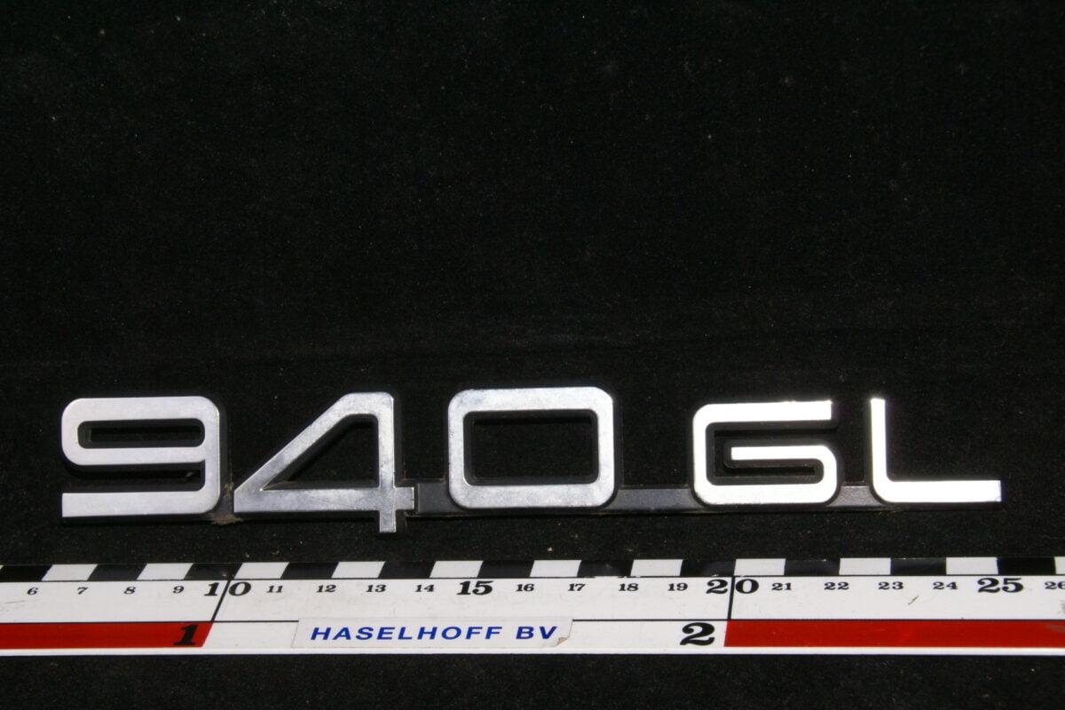 embleem kofferdeksel 940GL (vroeg) 141100-0554-0