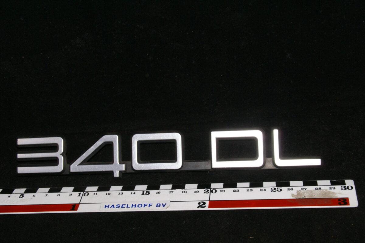 embleem kofferdeksel 340GL (laat) 141100-0608-0