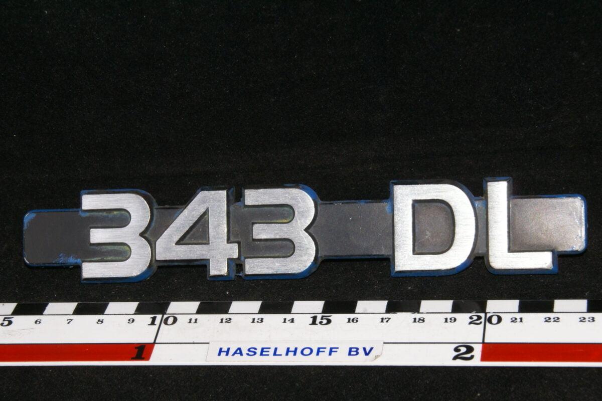 embleem kofferdeksel 343GL (vroeg) 141100-0609-0