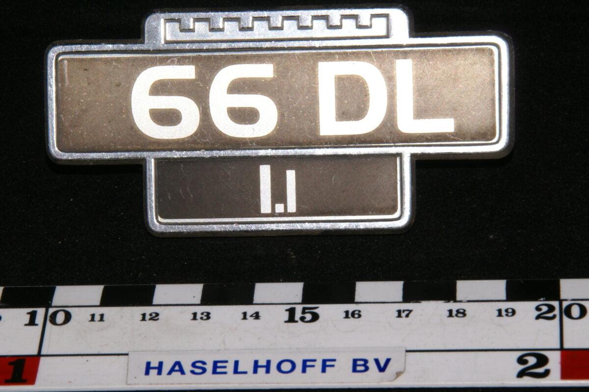 embleem spatbord 66DL/1.1 141100-0618-0