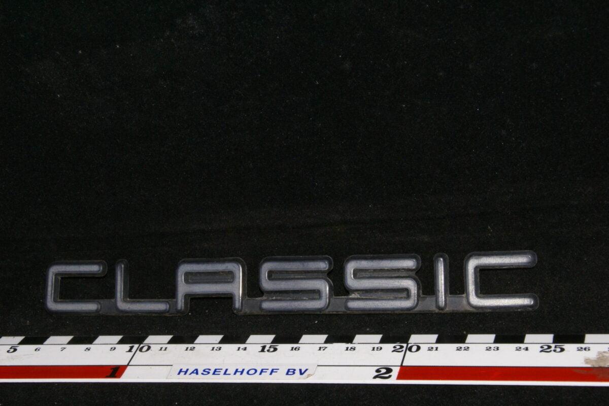 embleem kofferdeksel CLASSIC 141100-0640-0