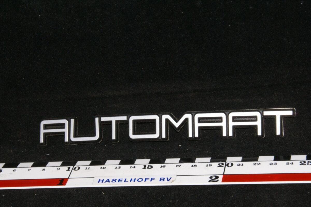 embleem kofferdeksel AUTOMAAT 141100-0645-0