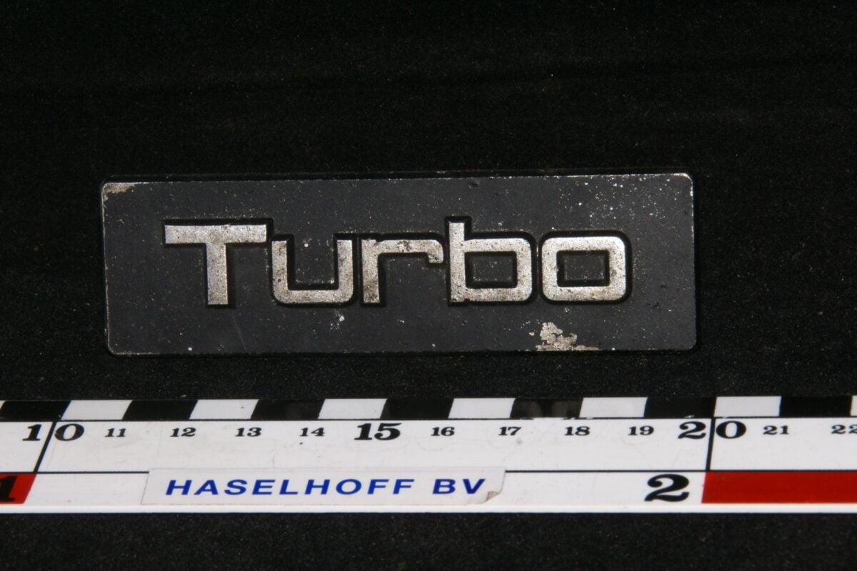embleem grille Turbo 141100-0647-0
