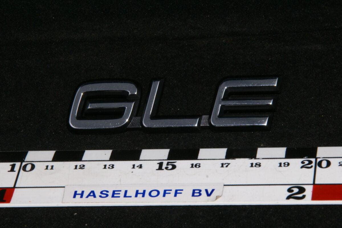 embleem kofferdeksel GLE 141100-0650-0