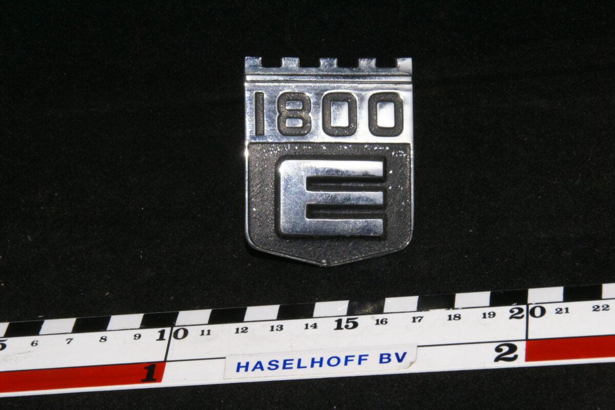 embleem achterzijde 1800E-0