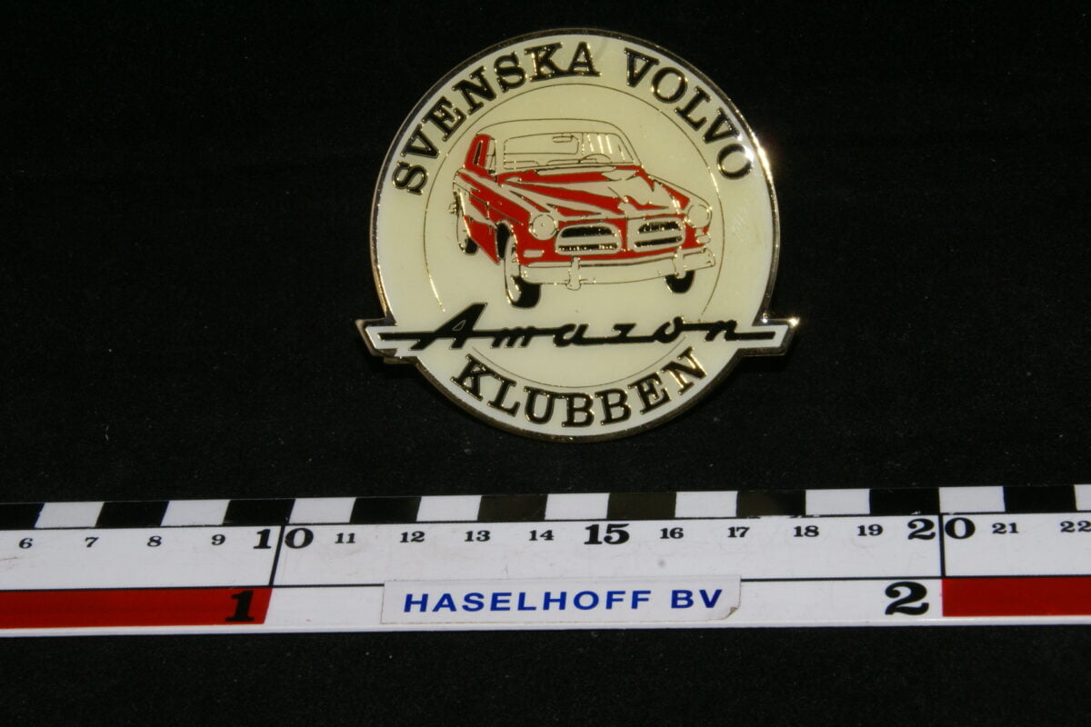 badge SVENSKA VOLVO Amazon KLUBBEN 141100-0700-0