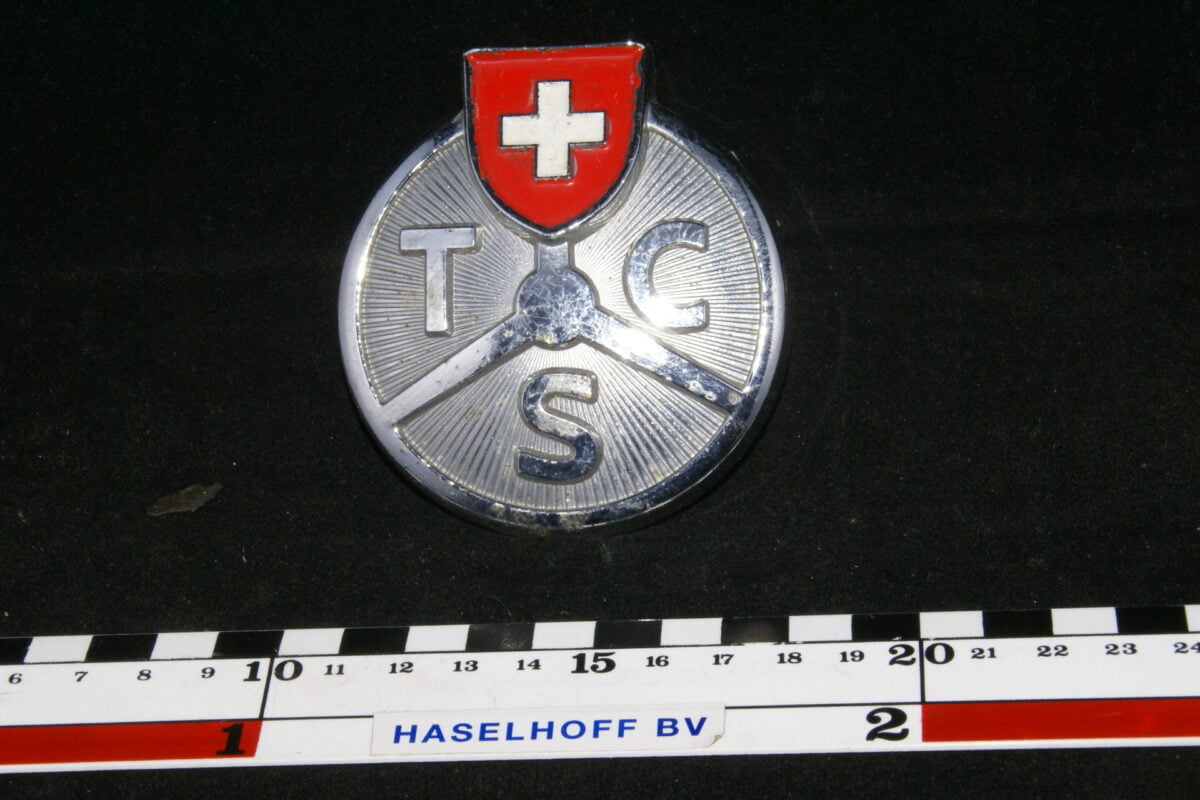 badge +TSC (Zwitsers) 141100-0710-0