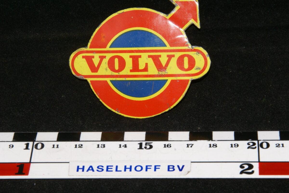 badge VOLVO (oranje-geel) 141100-0715-0