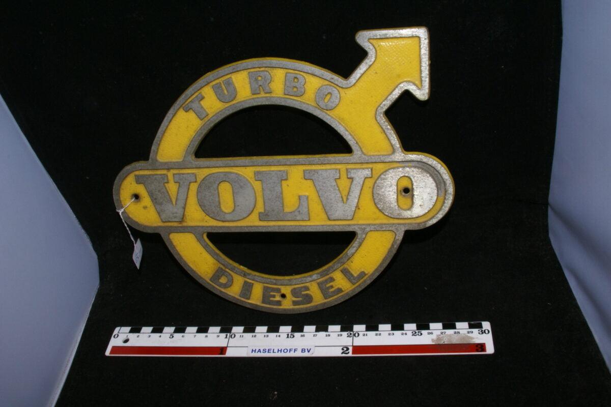 embleem VOLVO TURBO Diesel (alu) 141100-0840-0