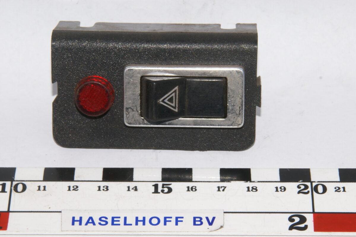 schakelaar hazard in houder met lampje 160113-2221-0