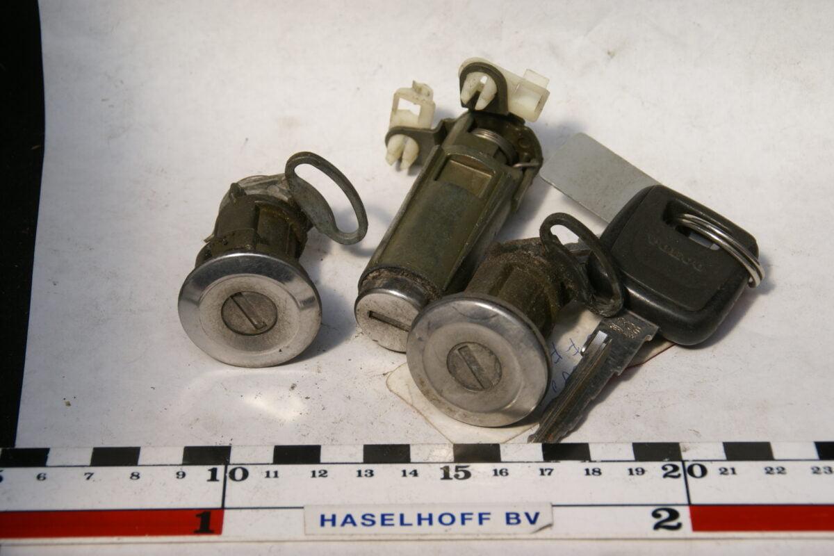 2 x portierslot en kofferbakslot met sleutel 160504-4618-0