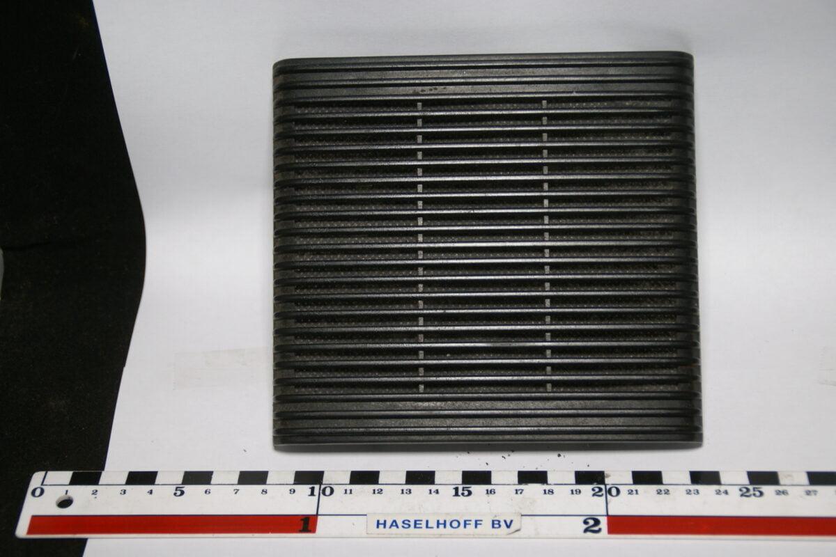 speakerplaat (zwart) 150615-5073-0