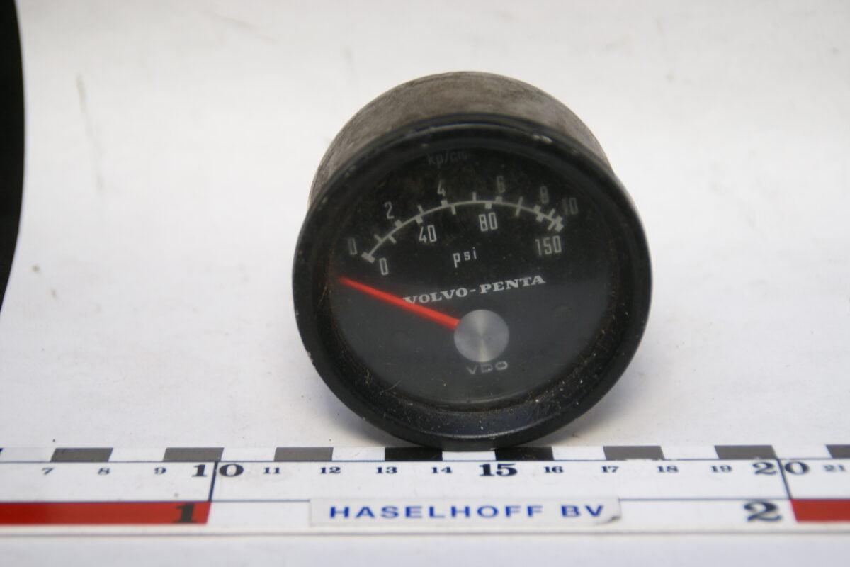 drukmeter Volvo Penta 160224-3333-0