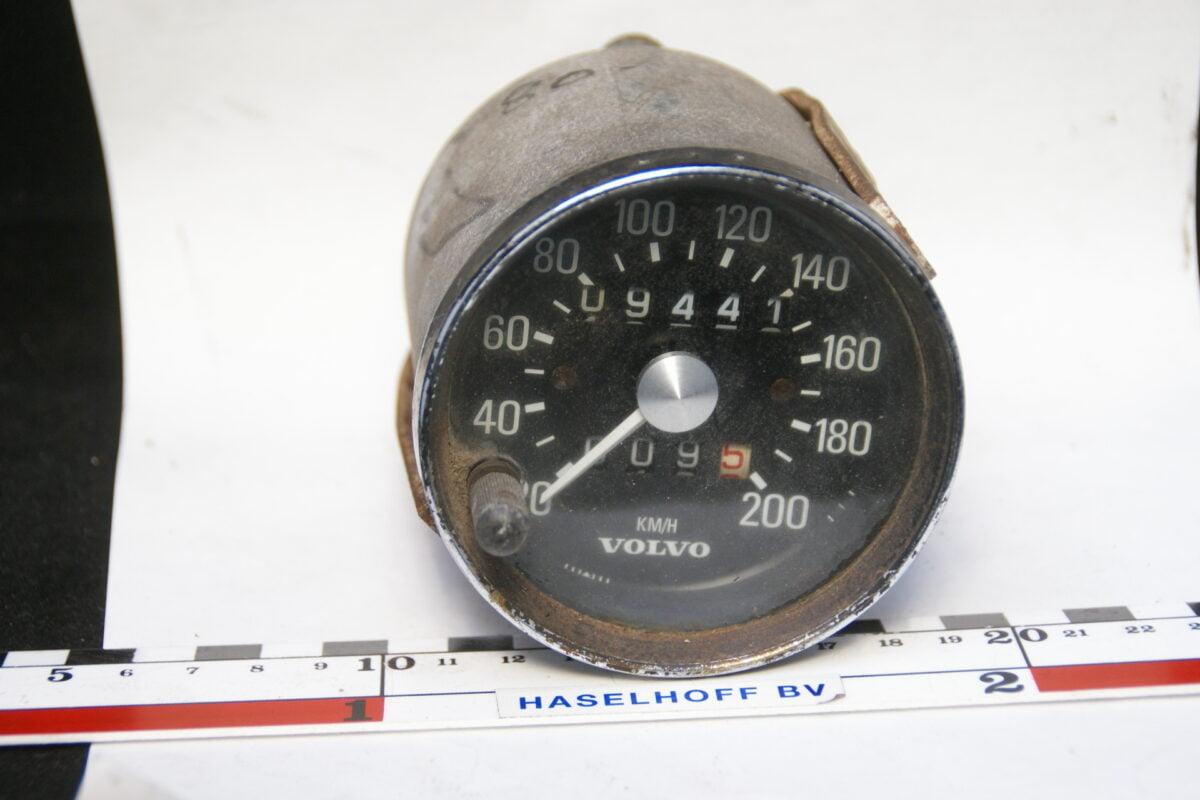 snelheismeter kilometerteller ca 80mm Volvo 70'er jaren 160224-3336-0