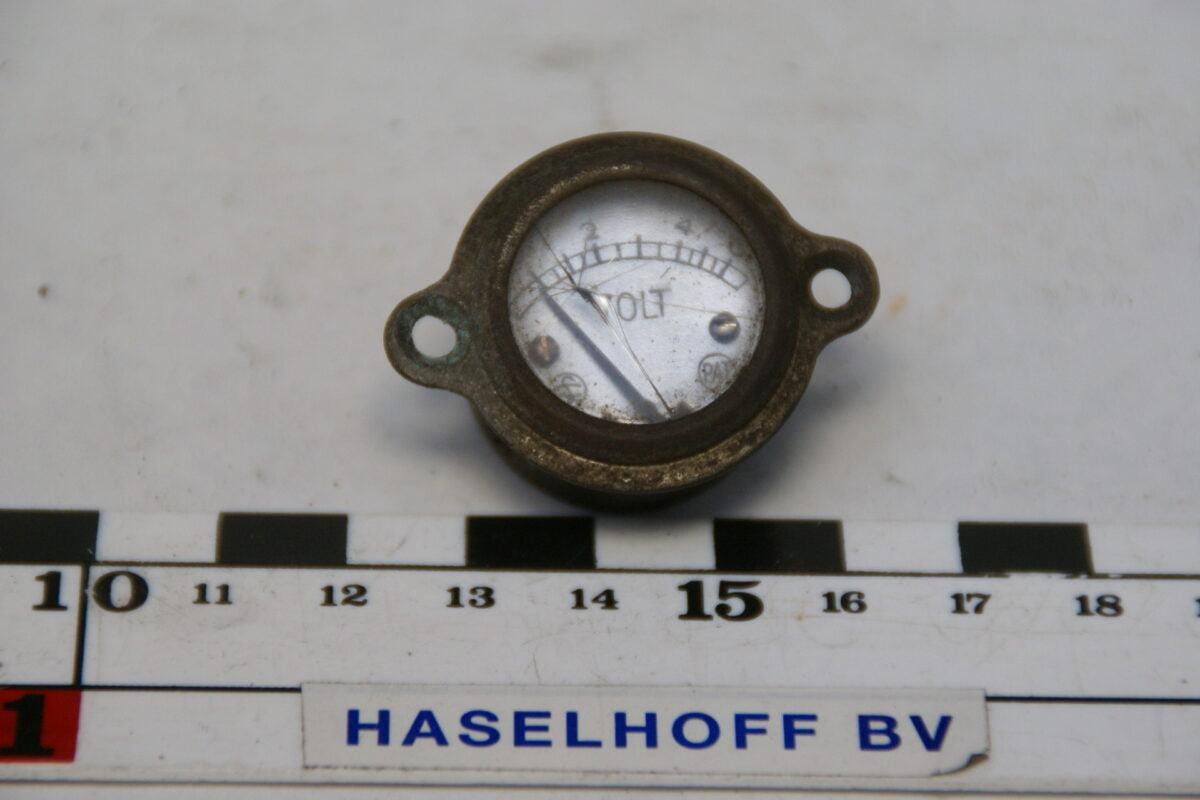 voltmeter tot 6 Volt 40'er jaren 160224-3338-0