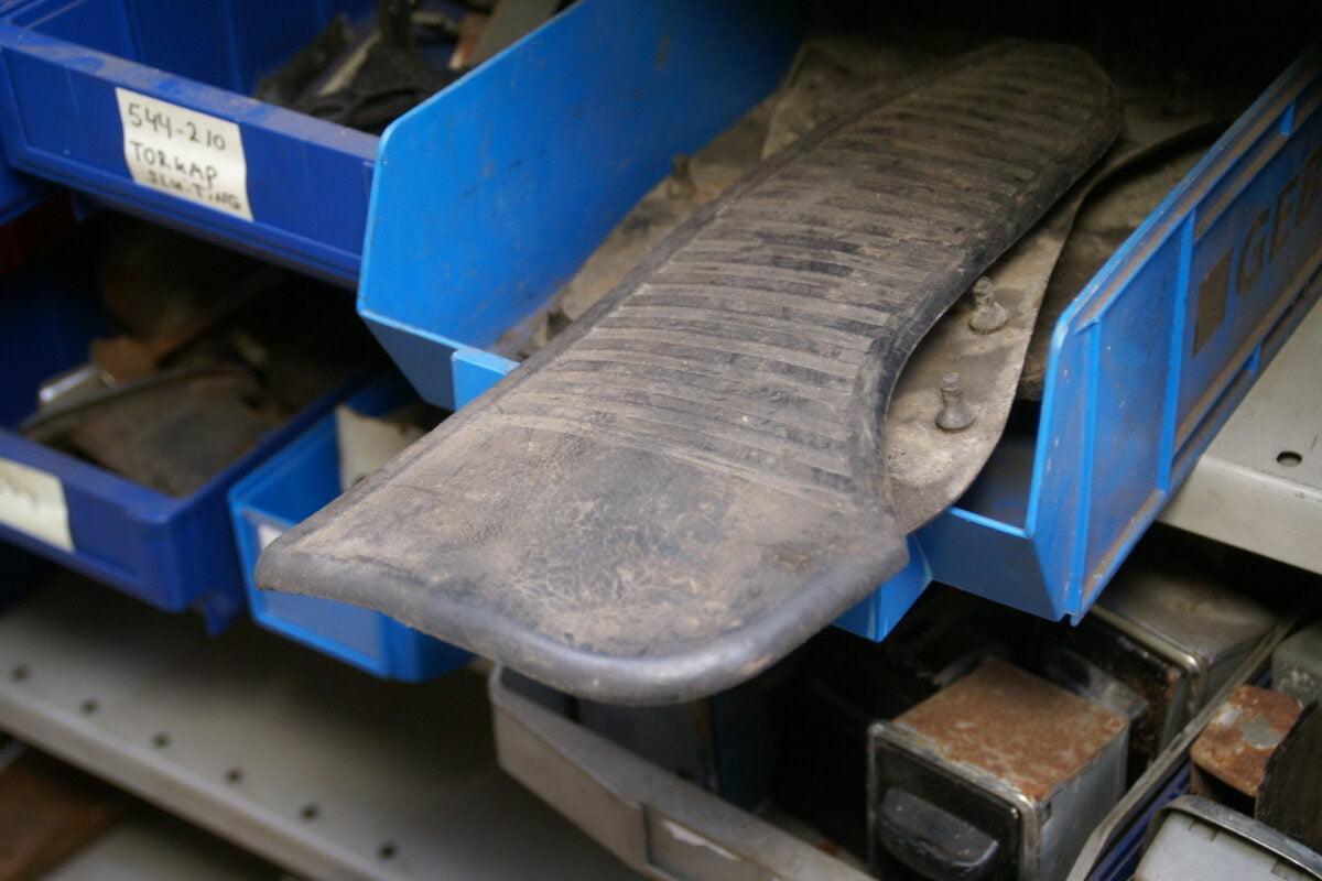 spatplaat rubber achterspatbord voorzijde 160224-3375-0