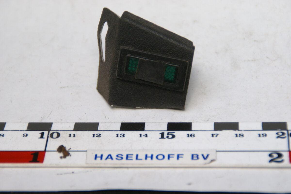 metalen houder met schakelaar 70'er jaren 160229-3437-0