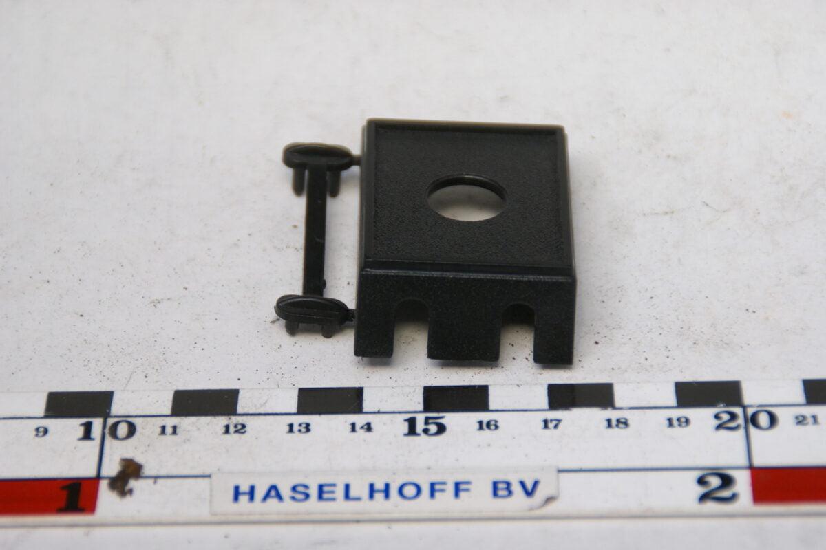 plastic houder voor schakelaar of lampje 60'er jaren 160229-3442-0