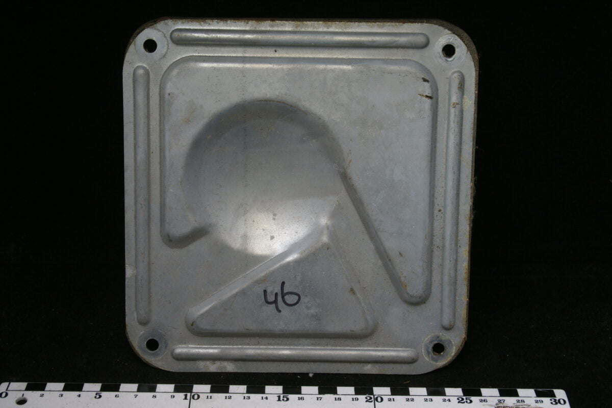 afdekplaat beznzinetankvlotter 160302-3515-0