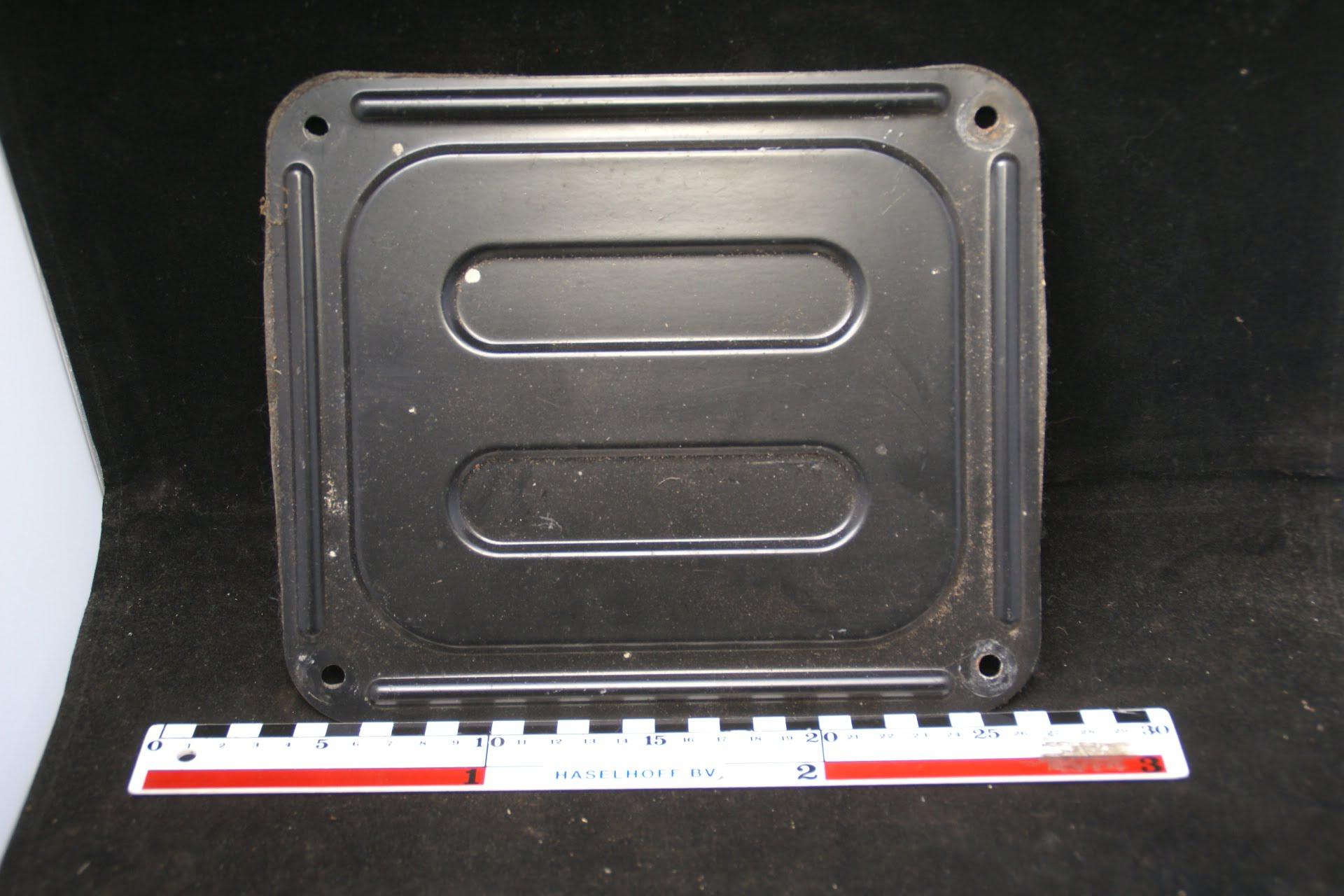 afdekplaat benzinetankvlotter 160302-3516-0